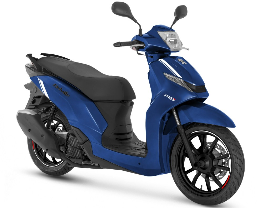 Belville 125i RS - Electric blue