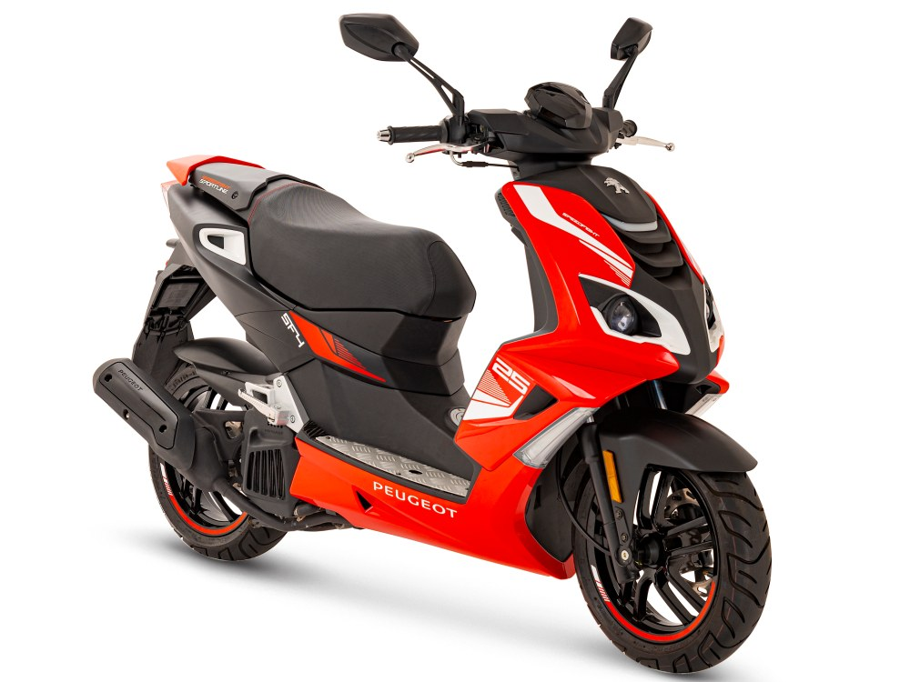 Speedfight 4 50i 2T Sportline - Flat6 Red