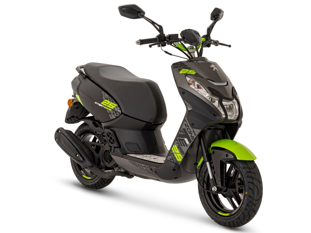 "Streetzone 50i 2T Naked 12"" - Fluo Apple Green"